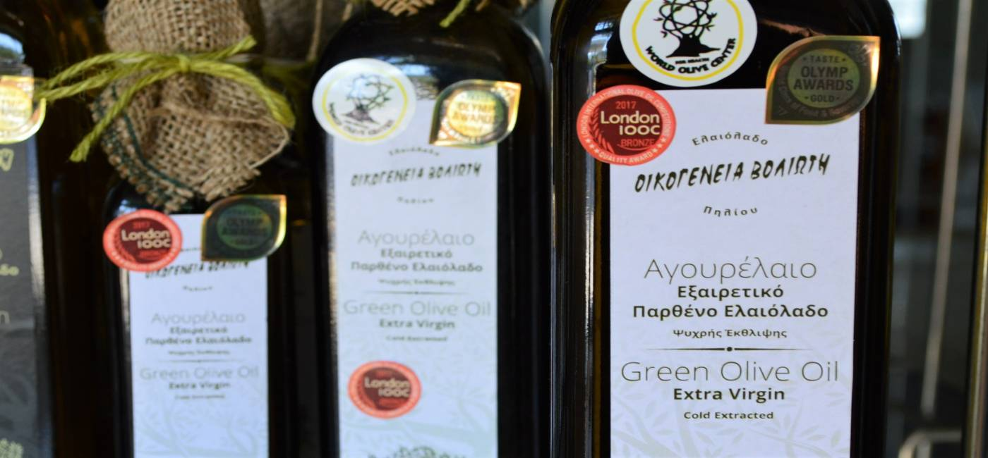 Pelion Olive Oil Experience