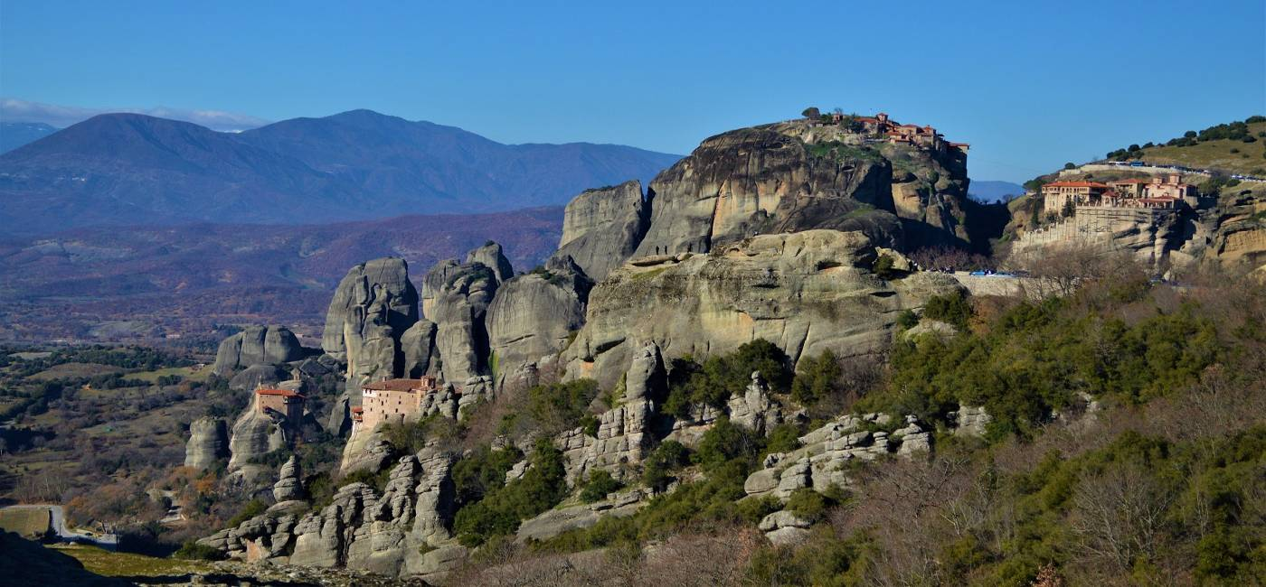Volos-Meteora Guided Day Trip